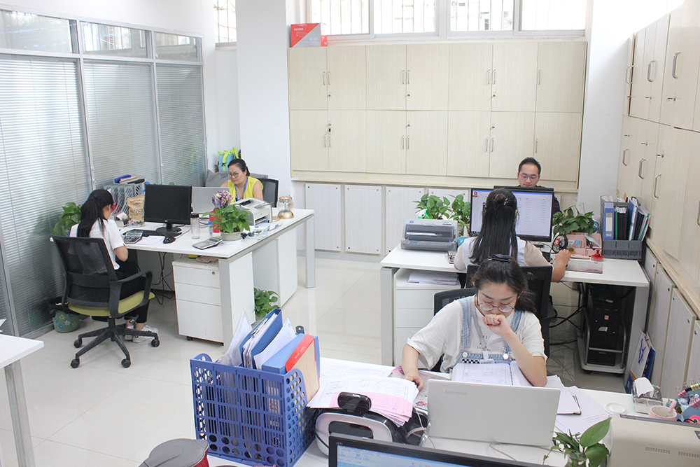 甲级监理公司办公环境—亿诚管理财务结算中心